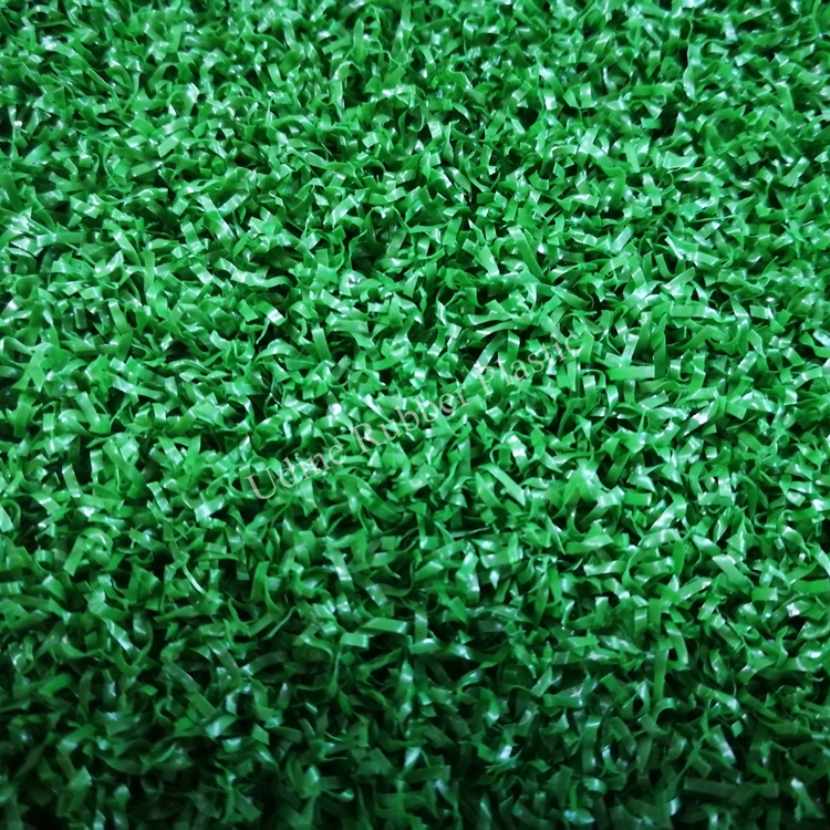 13mm, 16mm, 19mm Artificial Turf for Gym Sled Strips with Curly Pile Turf
