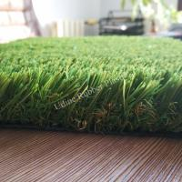 30mm Artificial Grass For Swimming Pool Surrounds With 4 Tone Landscaping Lawn