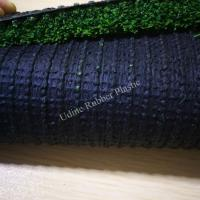 Unfilled 30mm Artificial Football Grass with 2 Tone Color