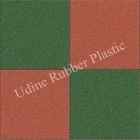 Synthetic Rubber Paving Tiles for Safety Surfaces