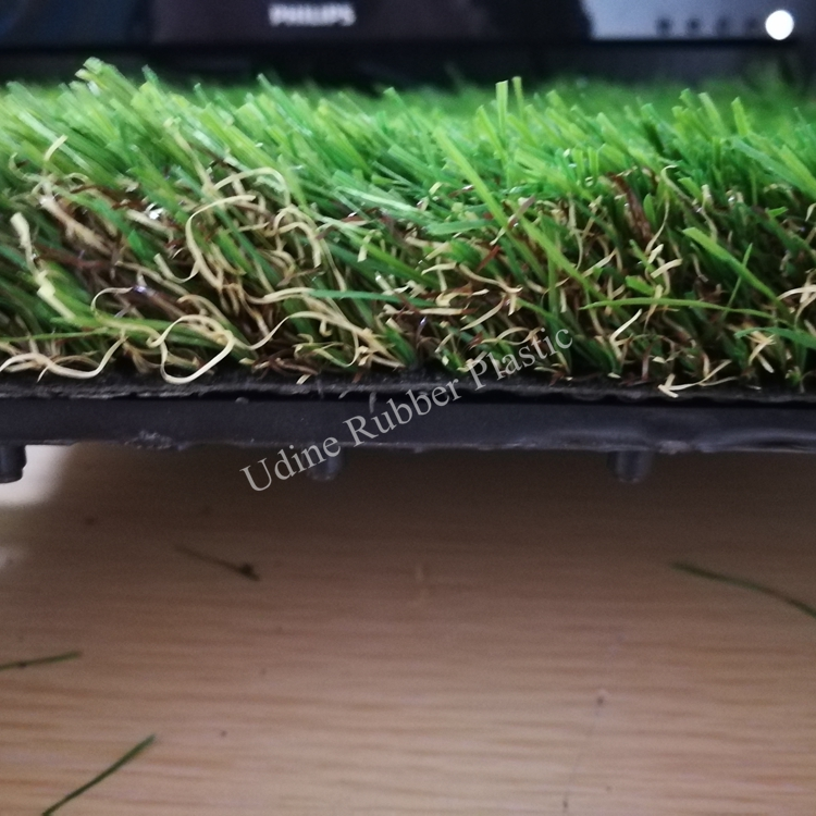 35mm Artificial Landscaping Grass with Plastic Bottom