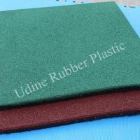 Eco-Safety Recycled Rubber Playground Surfacing Tiles