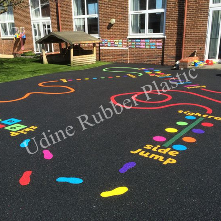 Children Play Area Rubber Tiles