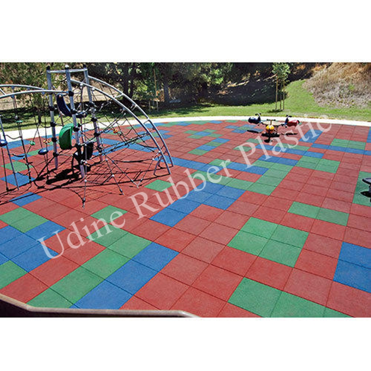 Rubber Pavers Application