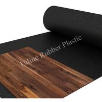 Black Acoustic Rubber Underlay with High Quality